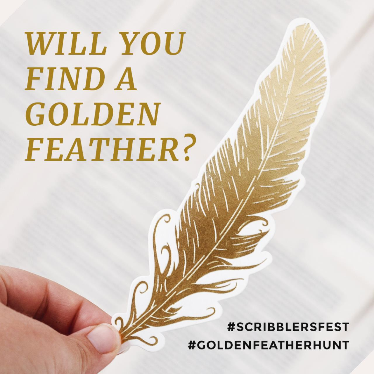 Scribblers Festival : Hunt for the Golden Feather