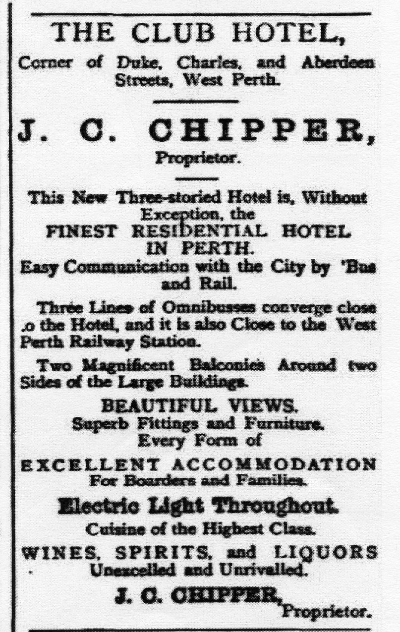 West Australian Sunday Times, 29 May 1898, p 1