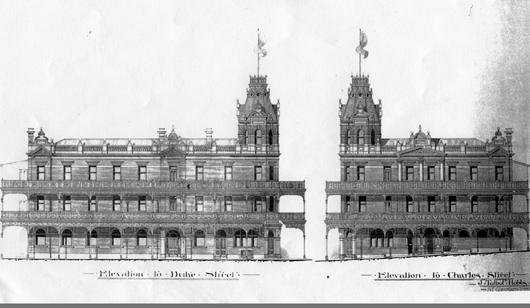 The Tower Hotel (formerly Club Hotel), Charles Street, West