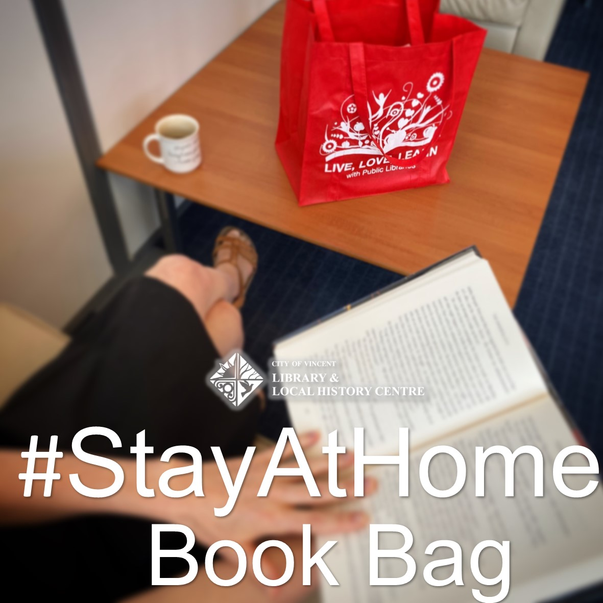 Stay at home book bag