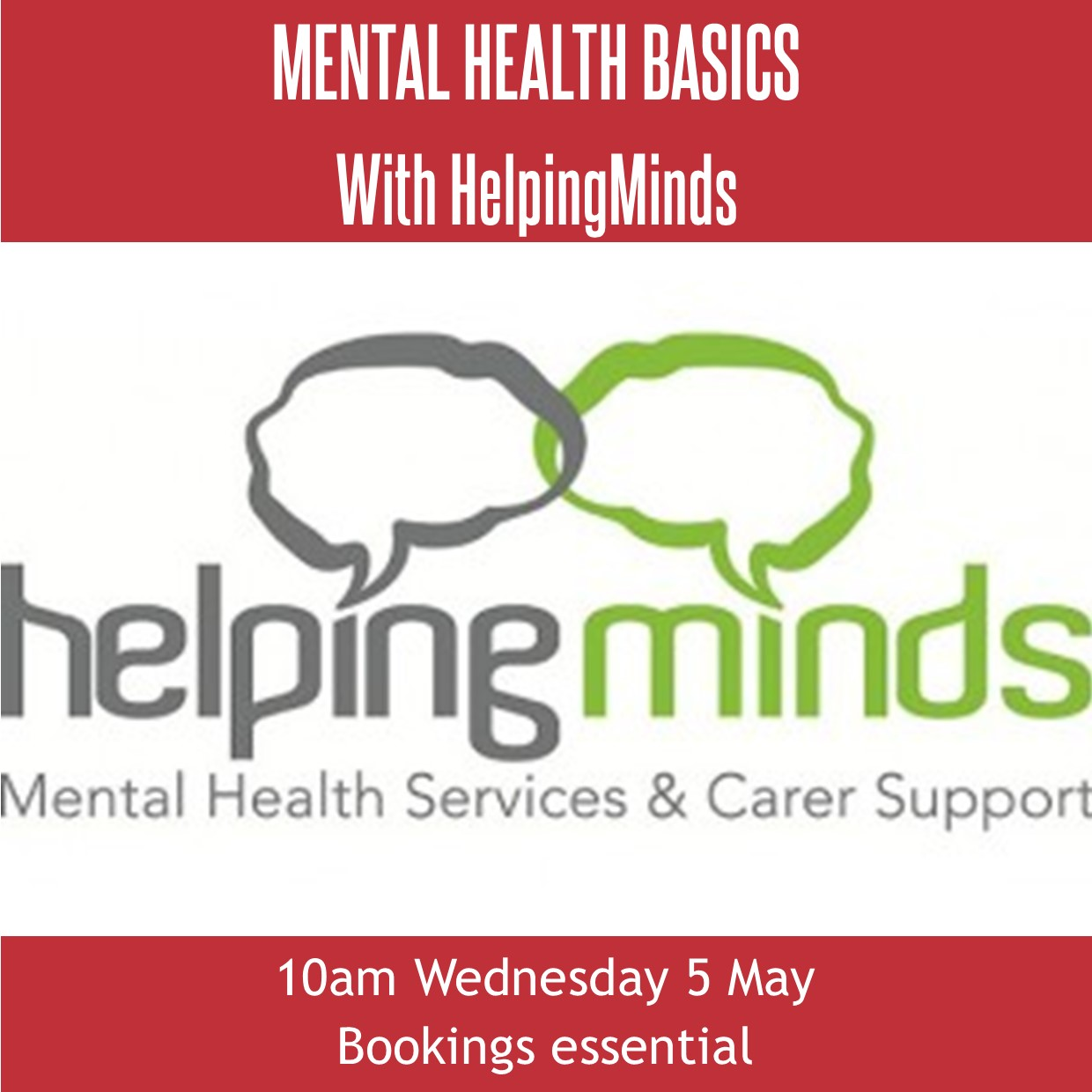 Mental Health Basics with HelpingMinds